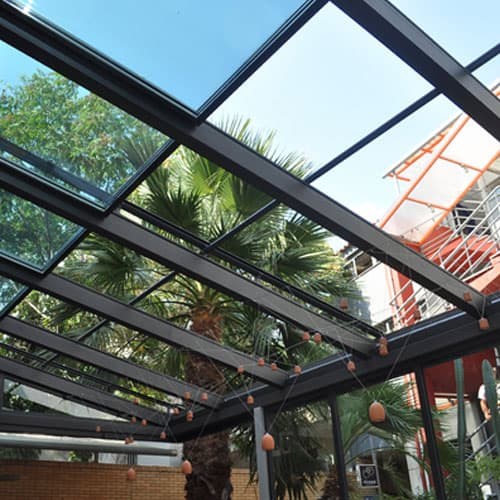 Opening Glass Roof